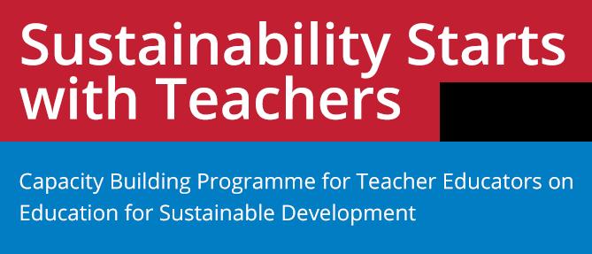 Sustainability Starts  with Teachers